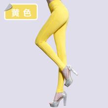 9Color 2015 Brand New Plus Size Solid Cotton Causal Fitness Women Leggings Slim High Waist Elastic Sexy Leggings Women Pants 6XL(China (Mainland))