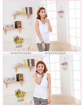 New Women Maternity Vest Blouse Nursing Feeding Summer Pregnant Cotton Tank Tops T Shirt Free Size ME00002(China (Mainland))