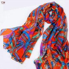 2013 New Design Women Leopard Print Pure Silk Scarf,180*110cm Brand Mulberry Silk Design Long scarf Wraps For Autumn,Winter(China (Mainland))