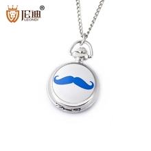LEONDI New Fashion & Casual Little Exquisite Enamel Necklace Pendant Quartz Pocket Watch Good Quality Best Gift (China (Mainland))