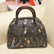 Free shipping New 2014 Fashion Lady Women Handbags Animal prints bag Polyester Totes 21 color Lunch Bag()