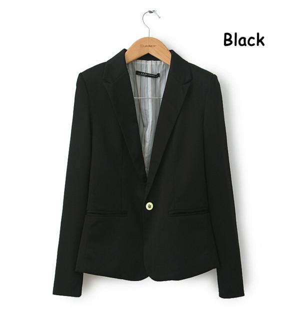 Black Womens Jacket Blazer