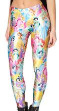 EAST KNITTING Fitness Women Legging Pants Fashion Coffee Bean We're All Mad Here Villains CHERRY BLOSSOM Print Leggings(China (Mainland))