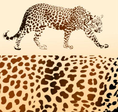 Цвет: Леопард