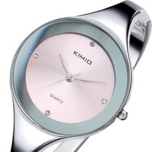 Band KIMIO Women Stainless Steel Strap Watch Women Dress Watches Fashion Ladies quartz bracelet Wristwatches WK2682(China (Mainland))