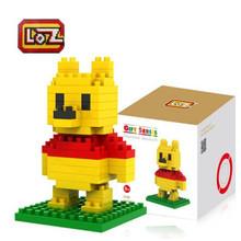 LOZ Blocks Children Educational Toys Cartoon Person Block Toys 20 Cartoons For Choose Free Shipping(China (Mainland))