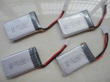 SYMA X5C X5 X5A rc quadcopter spare parts set syma x5c Li-po battery 3.7V 20C 500mah 5pcs+USB cable charger free shipping(China (Mainland))
