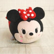 Plush TSUM TSUMS Toy Medium - 11'' Large - 17'' Size Toy Mickey Minnie Winnie Kawaii Dolls(China (Mainland))