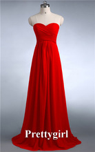 ZJ0039 wine red mint green coral hunter jade colored chiffon strapless prom party dresses new fashion 2014 bridesmaid dress long(China (Mainland))