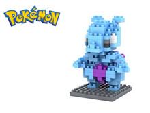 Pokemon Figures Model Toys Pikachu Charmander Bulbasaur Squirtle Mewtwochild Child Christmas gift 9+ Anime Building Blocks(China (Mainland))