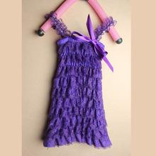 cute baby lace petti dress girl dress kids dress children clothing  LS140301(China (Mainland))