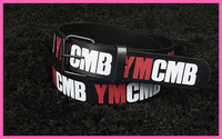Stock Free Shipping 2014 trend of fashion hiphop punk male hiphop belt ymcmb strap hip-hop strap