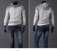 New 2014 hot!Free Shipping High Collar Top Brand Men's Jackets,Men's Dust Coat Men's Hoodeies Clothes