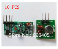 10PCS 433m TX+RX module super regeneration,wireless transmitting module alarm transmitter receiver,free shipping