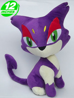 Pokemon Purrloin Plush Doll Toys Figure 12inches Stuffed Anime Manga Gift PNPL9107