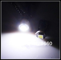 50pcs white T10 1SMD 5050 canbus led bulb , auto led bulb canbus function, warning canceller auto led bulb led lamp t10 12v