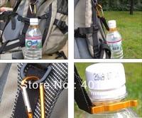 Mineral water bottles hung fastening beverage bottle bottle mountaineering buckle