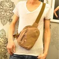 2013 male chest pack small canvas messenger bag the trend of fashion personality fashion messenger bag man bag