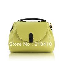 2013 promtion! cheapest molle bag luxury OL handbag fashion candy color handbag vintage messenger bag doctor bag free shipping
