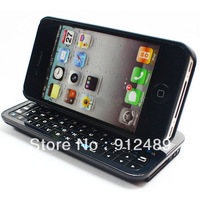 Ultra-thin Wireless with Backlight Bluetooth3.0 Slide Keyboard for iPhone4/4S