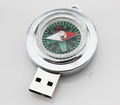 2GB 4GB 8GB 16GB 32GB compass shape USB Flash Drive pen drive memory stick Drop Free Shipping