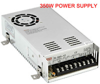 High Quality 350W Single output AC to DC Switch Power Supply with cooling fan inside 85V~264VAC Input output 5V/12V/24/48V