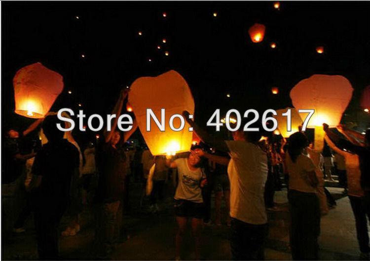 Wholesale 2013 hot fire retardant sky lanterns.Easter Day Gifts sky lanterns/chinese lantern,sky lantern,children gift(China (Mainland))