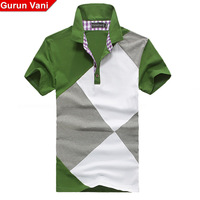 High quality 89 gurunvani 2013 summer slim male short-sleeve polo shirt men's clothing