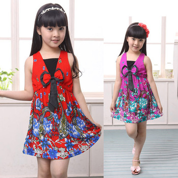 Children princess dress / girls' summer dress / children's holiday dress / casual dress