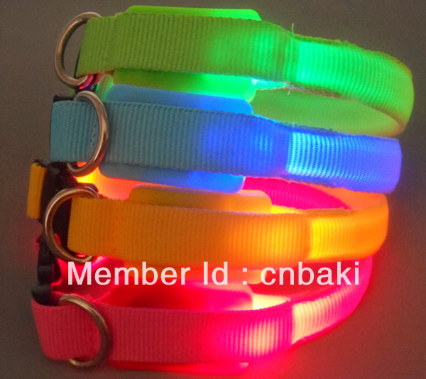 LED flash pet products light collar for small dog(China (Mainland))