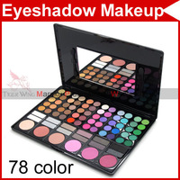 78 Color Eyeshadow Eye Shadow Make Up Makeup Cosmetics Gloss Powder Palette Camouflage+12 Concealer+6 Blusher Blush 2240
