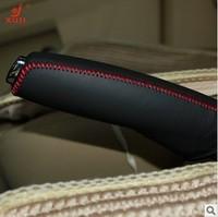 2012 Sega Genuine leather sew-on handbrake cover
