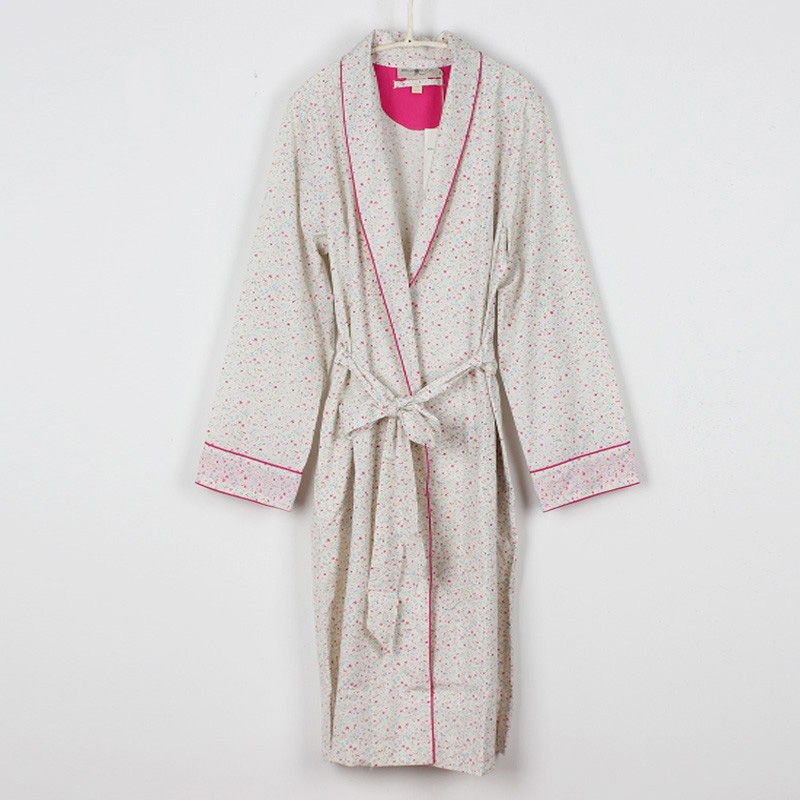 2013 100% cotton female lounge robe spa bathrobe set f5039(China (Mainland))