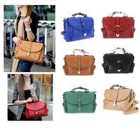 , Fashion Retro Women's Messenger Bag Totes Satchel Shoulder Bag Handbag Baguette Women designer Hand bag 6 colors