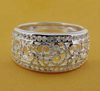 R211 Size:6,7,8,9 925 silver ring, 925 silver fashion jewelry ring fashion ring /bikajzrasr