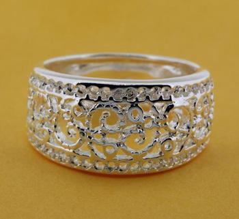 R211 Размер: 6, 7, 8, 9 925 серебряное кольцо, 925 серебряные ювелирные изделия кольца ...