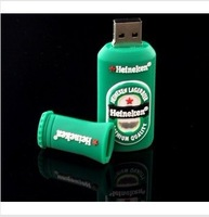 4GB Mini Beer Bottle Shaped Style Memory Stick USB Flash Memory Drive