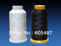 Free shipping 100% nylon V69 T70 bonded sewing thread 210D/3 for Shoes,leathers,Boat Sails 1000m/spool  2 pcs /lot