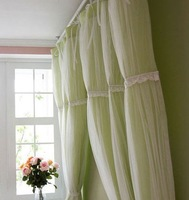 Lace bulkness princess curtain curtains advanced