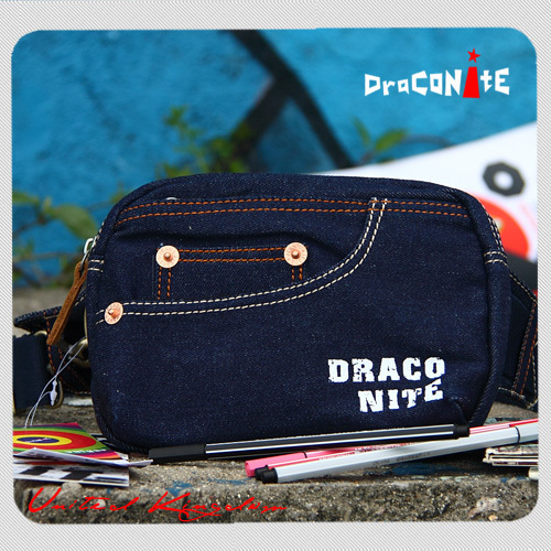 Fashion normic denim sports fitness waist pack personality chest pack messenger bag travel carry bag(China (Mainland))
