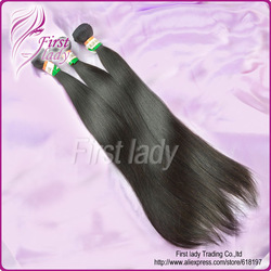 Indian straight virgin hair one piece free shipping 100% queen hair product no chemical process(China (Mainland))