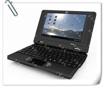 "2013 VIA8850 7"" Netbook Andoird 4.0 1.2Ghz CPU 1.3MP Camera 512MB RAM 4GB 7 Inch Laptop"