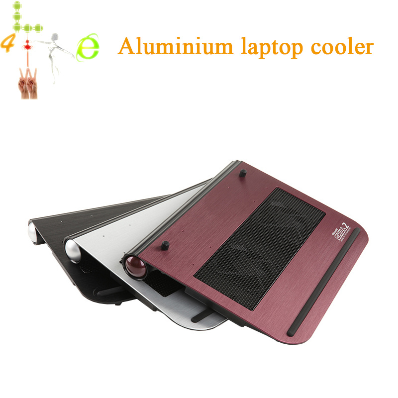 Hongkong Post Free Aluminium Laptop Cooling Stand Speed Adjustable Storage Box Embedded(China (Mainland))