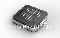 Free shipping 1800mAh Solar Mobile Power Bank for iPhone5