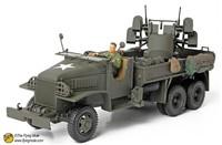 free shipping ! FOV 80060 1:32 WWII U.S. Army M35 artillery trucked quadruple  Alloy Military Model