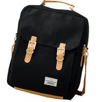 2013 school bag backpack men's women's bag canvas travel bag backpack laptop bag