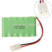 Ni-MH AA 7.2V 1800mAh Battery Pack-12 Pcs a Row + Free shipping