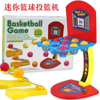 Baby educational toys multicolour marbles basketball squared parent-child child desktop  Basket Case Headband Hoop Game
