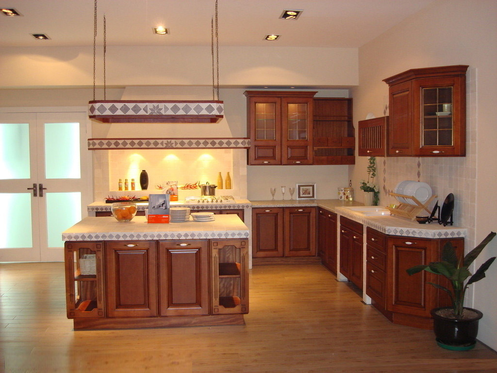 antique style kitchen cabinets(China (Mainland))