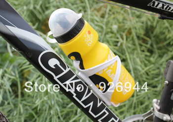 Wholesale 750ML Portable Outdoor sport  Bike Bicycle Cycling Sports Drink Jug Water Bottle With Dust Cover free shipping